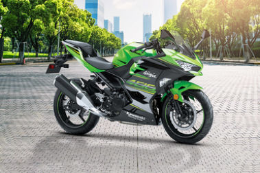 Kawasaki Ninja 400 Front Right View
