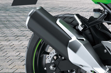 Kawasaki Ninja 400 Exhaust View
