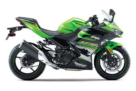 Kawasaki Ninja 400 Green