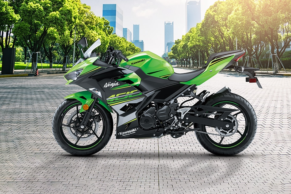 Kawasaki Ninja 400 Left Side View