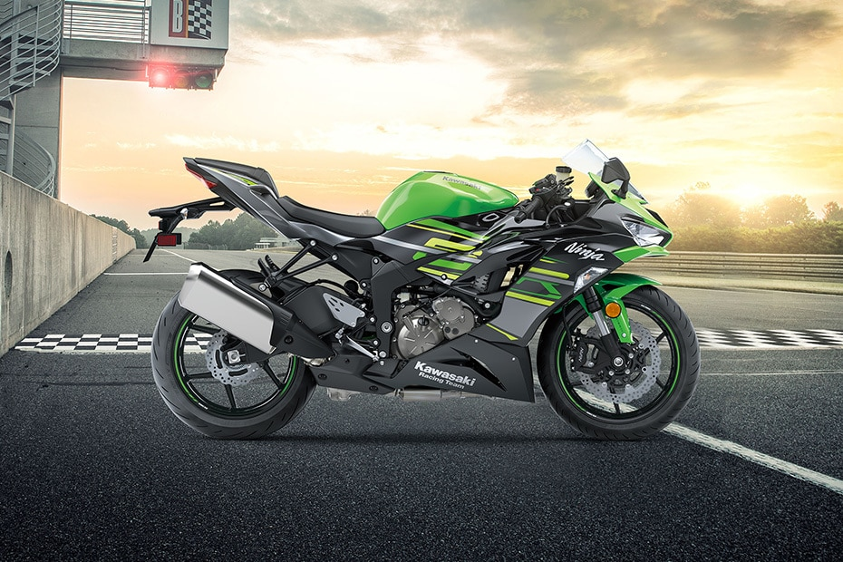 Kawasaki Ninja ZX-6R Right Side View
