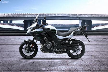 Kawasaki Versys 1000 Left Side View