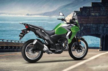 Kawasaki Versys X 300 Rear Right View