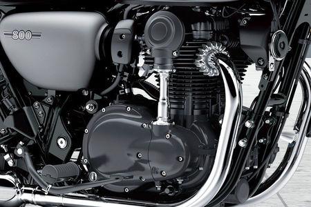 Kawasaki W800 Street Engine