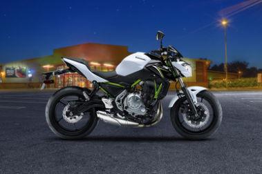 Kawasaki Z650 Right Side View