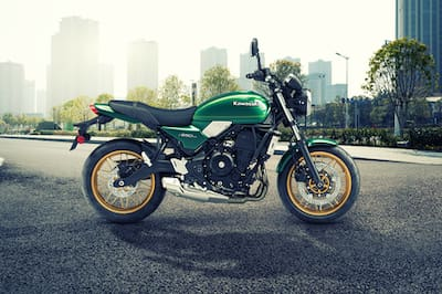 Kawasaki Z650RS Right Side View