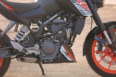 KTM 125 Duke Engine