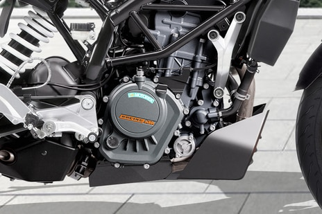 KTM 125 Duke Engine