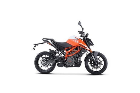 KTM 125 Duke Orange