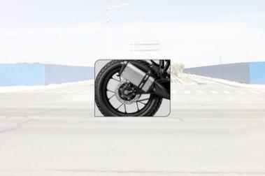 KTM 250 Adventure Exhaust View