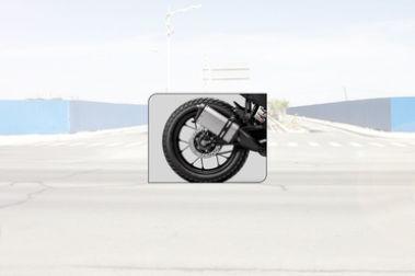 KTM 250 Adventure Rear Tyre View
