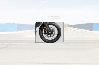 KTM 250 Adventure Front Tyre View