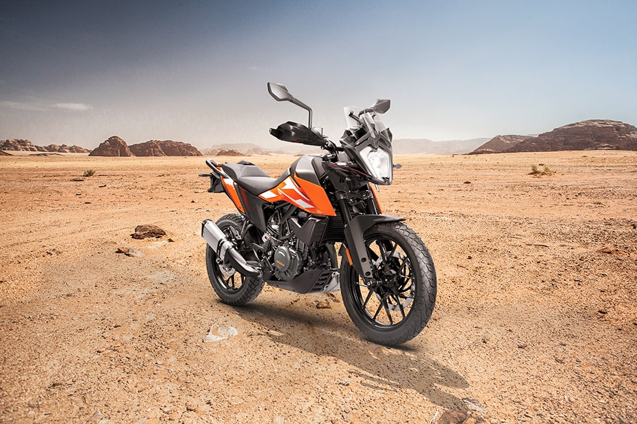 KTM 250 Adventure Left Side View
