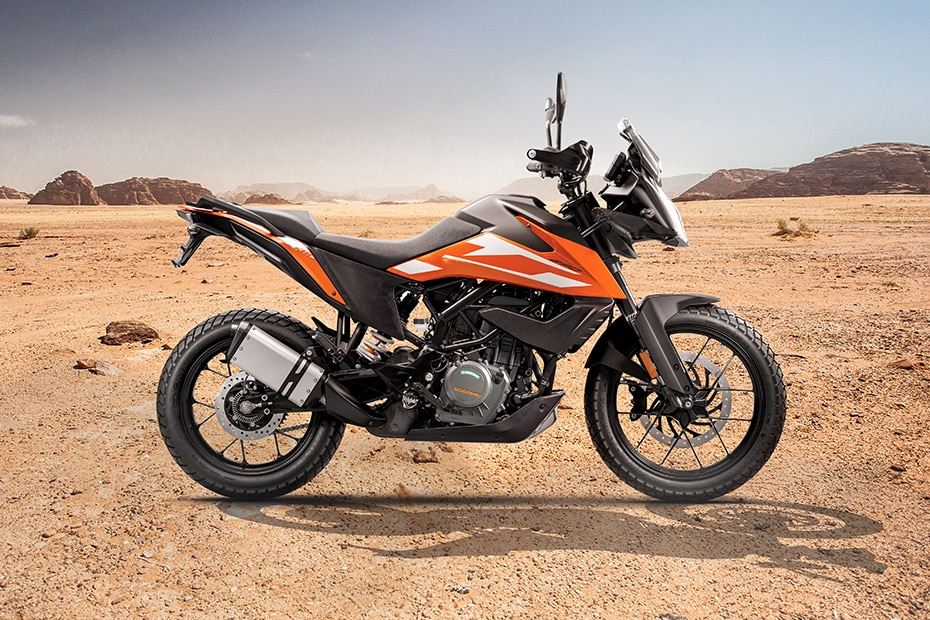 KTM 250 Adventure Rear Left View
