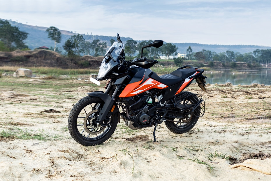KTM 250 Adventure Front Left View