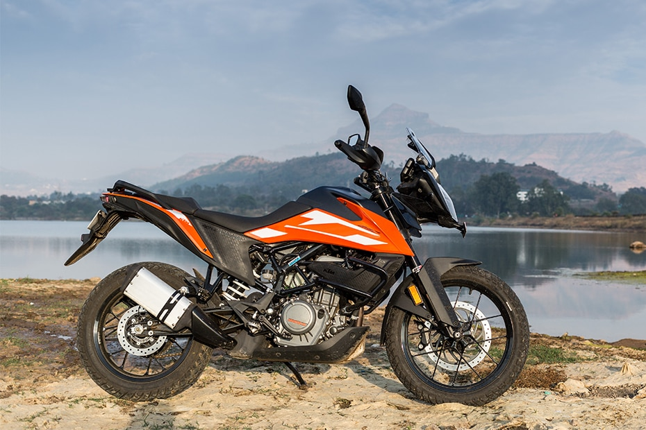 KTM 250 Adventure Right Side View