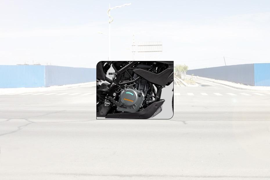KTM 250 Adventure Engine