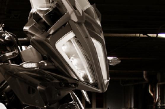 KTM 390 Adventure Head Light