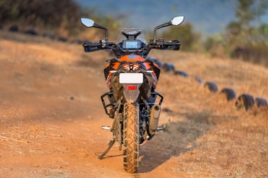 KTM 390 Adventure Rear View