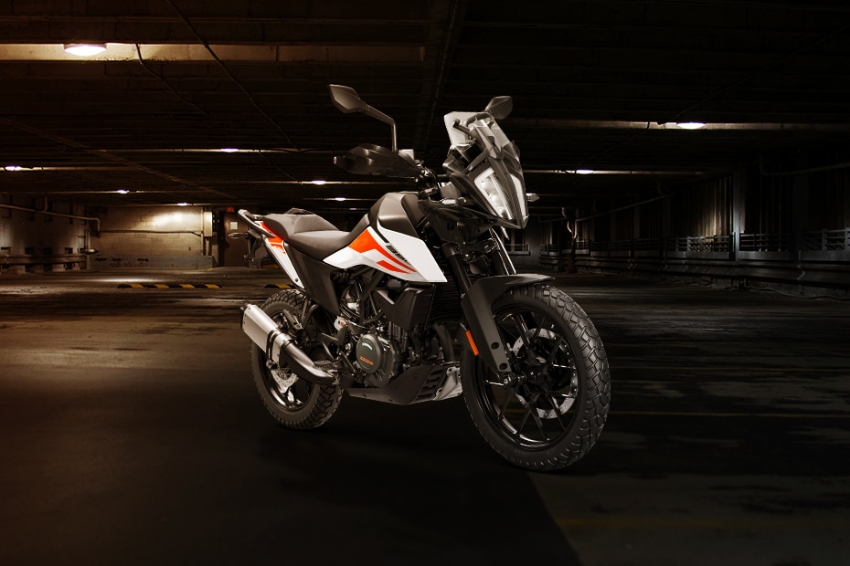 KTM 390 Adventure Front Right View