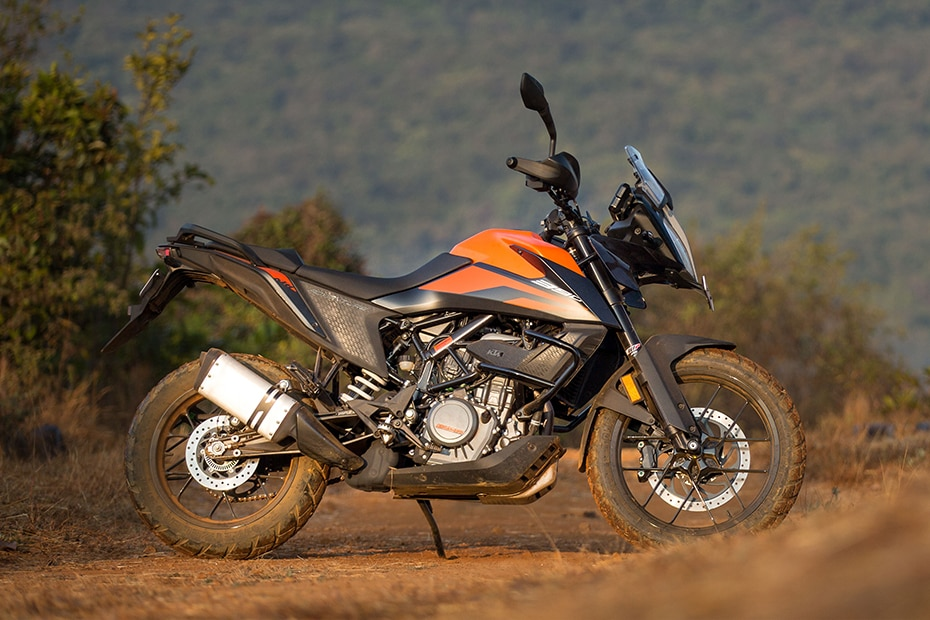 KTM 390 Adventure Right Side View