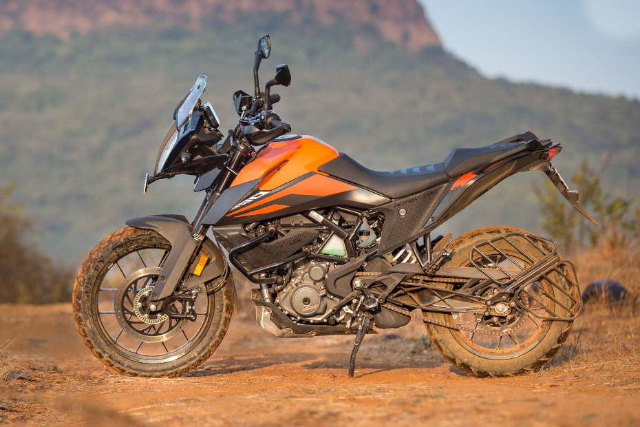 KTM 390 Adventure Left Side View