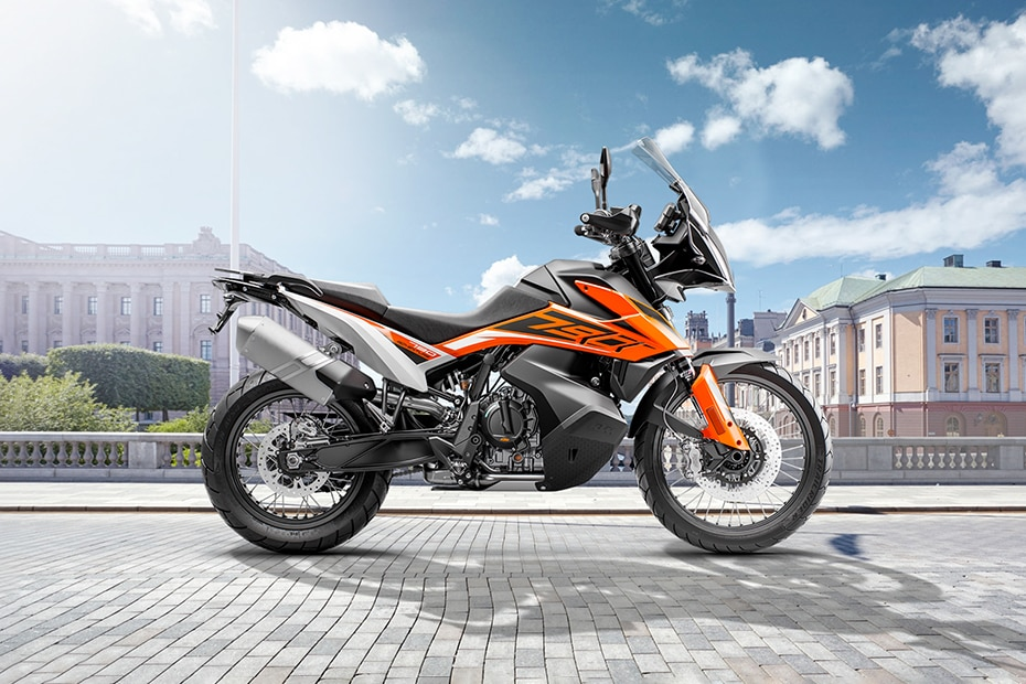 KTM 790 Adventure Right Side View
