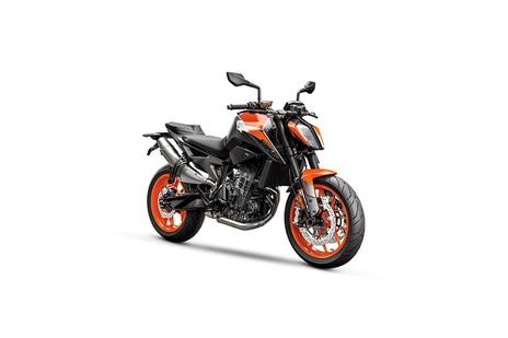 KTM 890 Duke Black With Orange Metallic