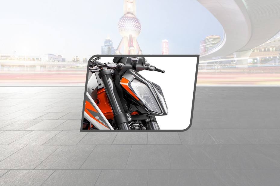KTM 890 Duke Head Light