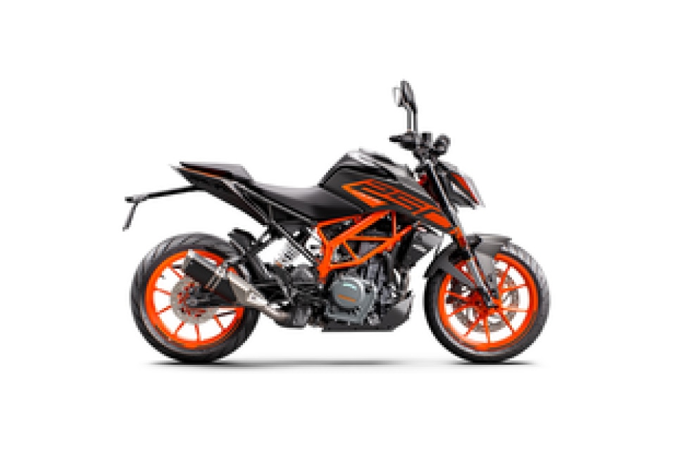 KTM 250 Duke Black with Orange