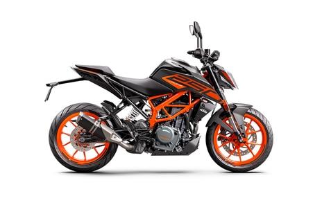 KTM 250 Duke Orange