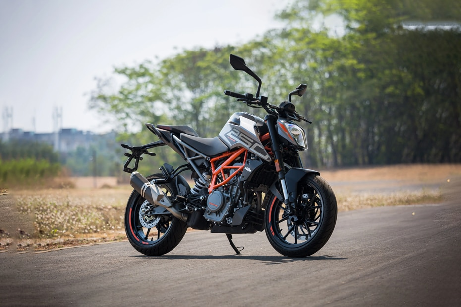 KTM 250 Duke Left Side View