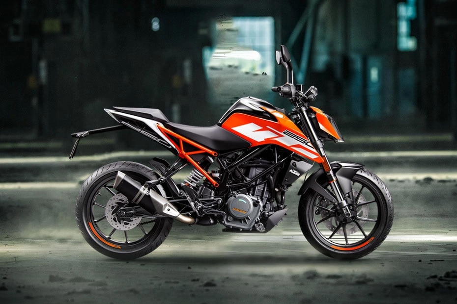 KTM 250 Duke Right Side View