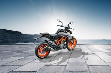 KTM 390 Duke Rear Right View