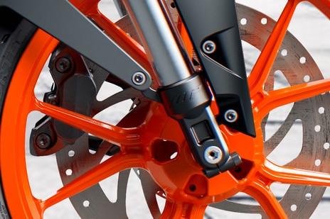 KTM 390 Duke Front Brake View