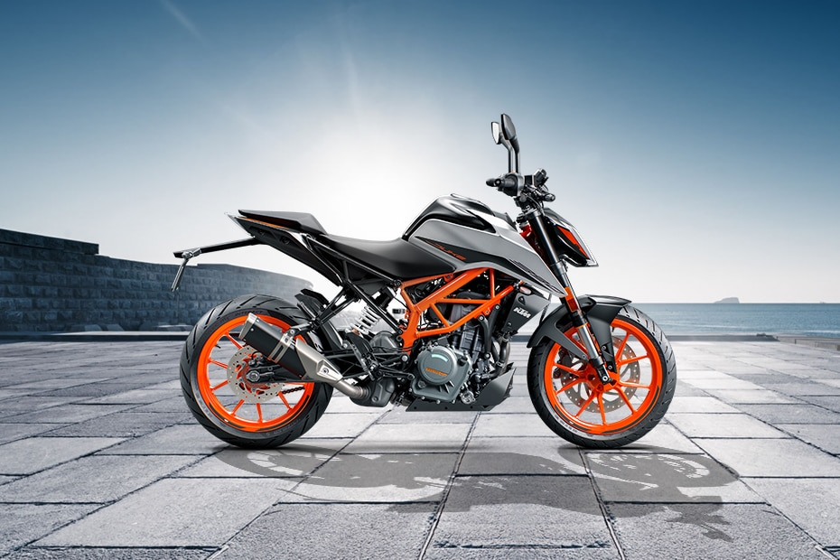 KTM 390 Duke Right Side View