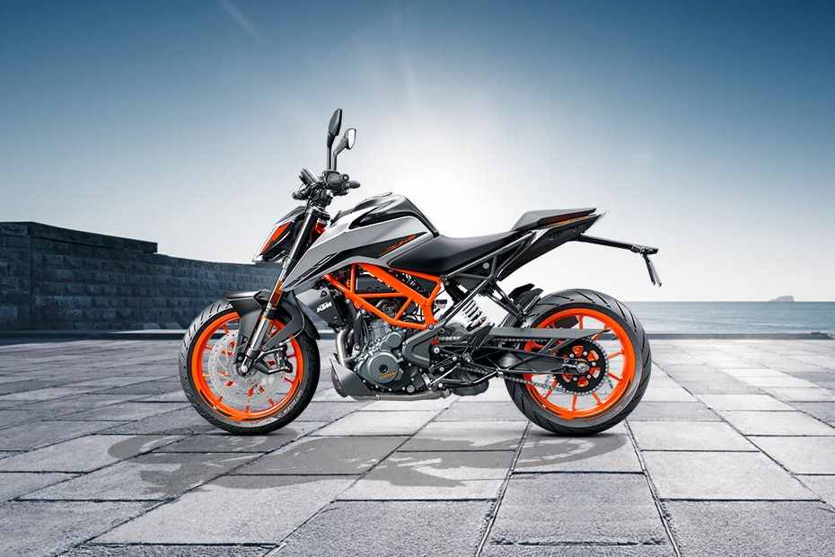 KTM 390 Duke Left Side View