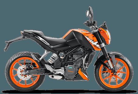 KTM 200 Duke Orange