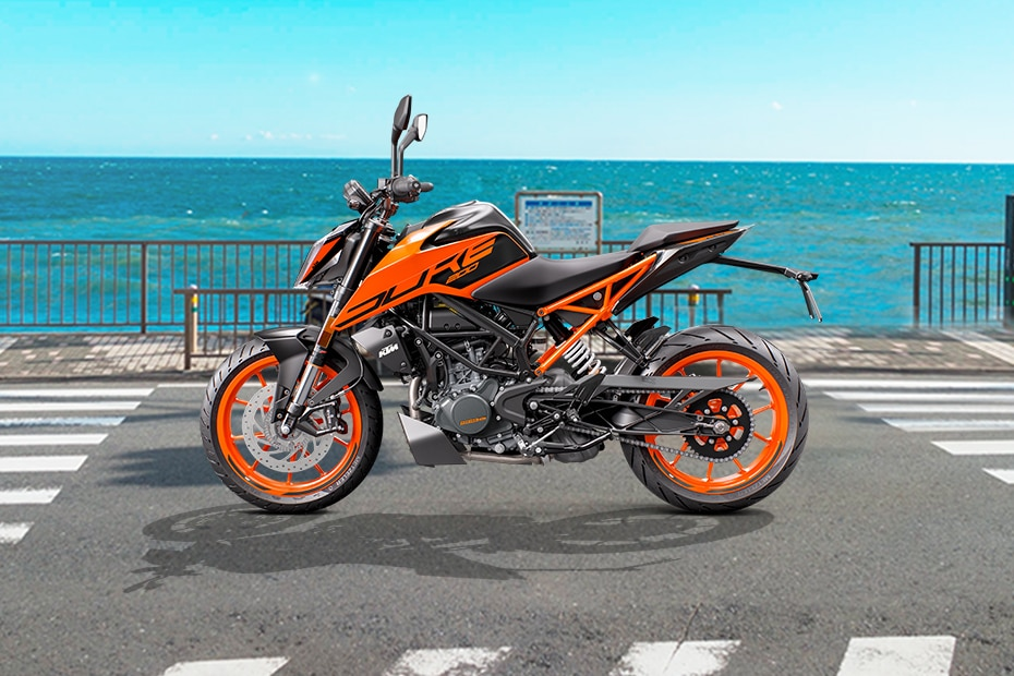 KTM 200 Duke Left Side View