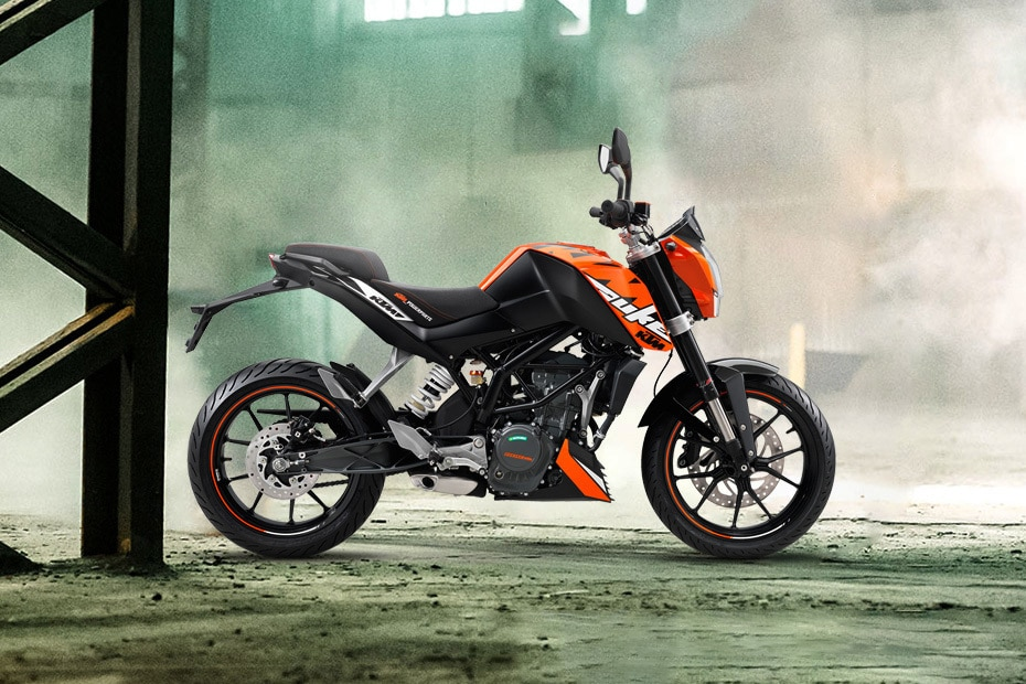 KTM 200 Duke Right Side View