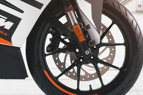 KTM RC 390 Front Brake View
