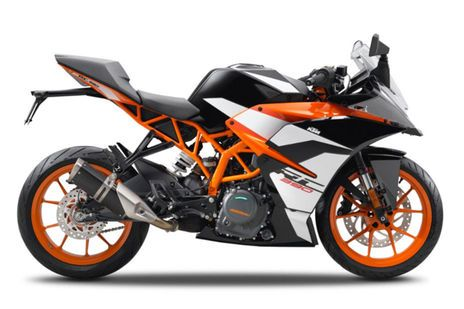 KTM RC 390 Orange