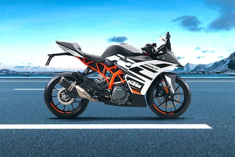 KTM RC 390 Right Side View