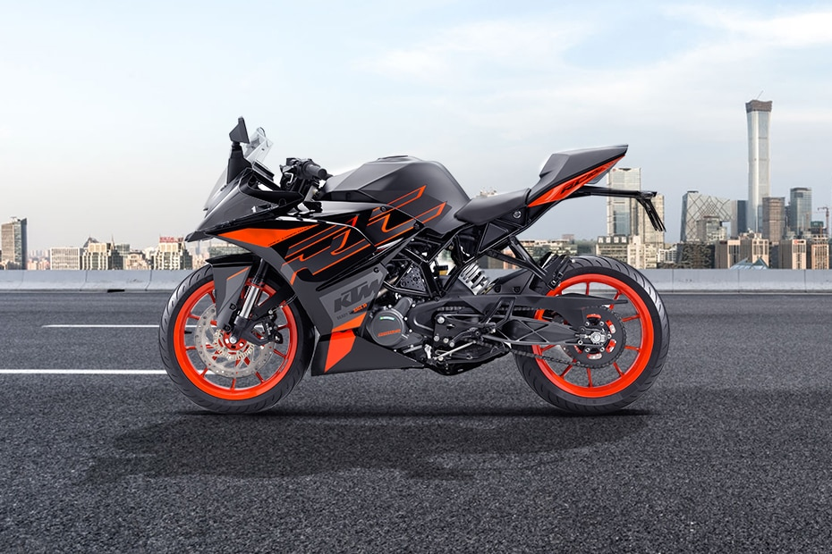 KTM RC 200 Left Side View