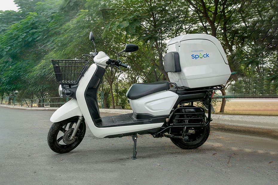 Li-ions Spock Electric Scooter Left Side View
