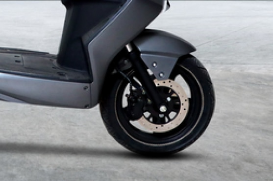 M2GO X1 Front Tyre View