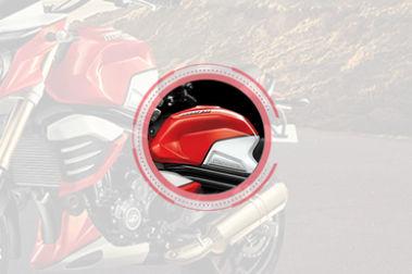 Mahindra MOJO XT 300 Brand Logo & Name