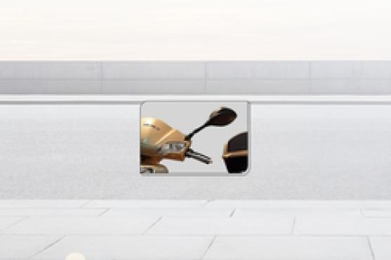 Merico Eagle-100(6.0) Back View Mirror