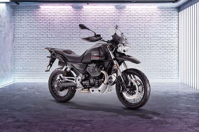 Moto Guzzi V85 TT Front Right View