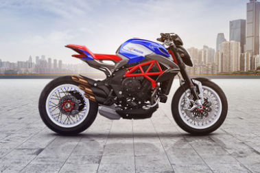 MV Agusta Dragster 800 RR Right Side View
